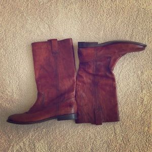 Frye mid-calf boots